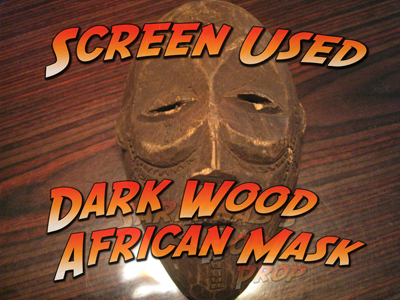 Dark Wood African Mask