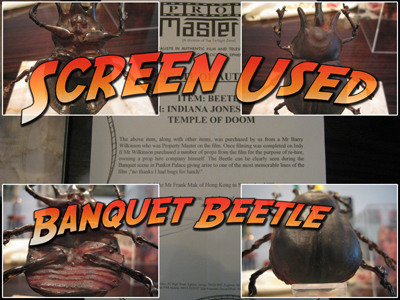 Banquette Beetle - Screen Used